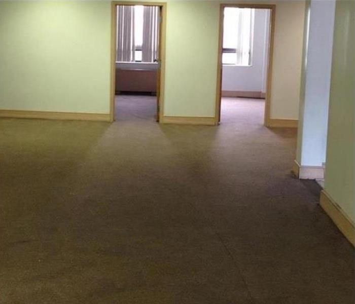 Water Damage – Woodstock Office Space After
